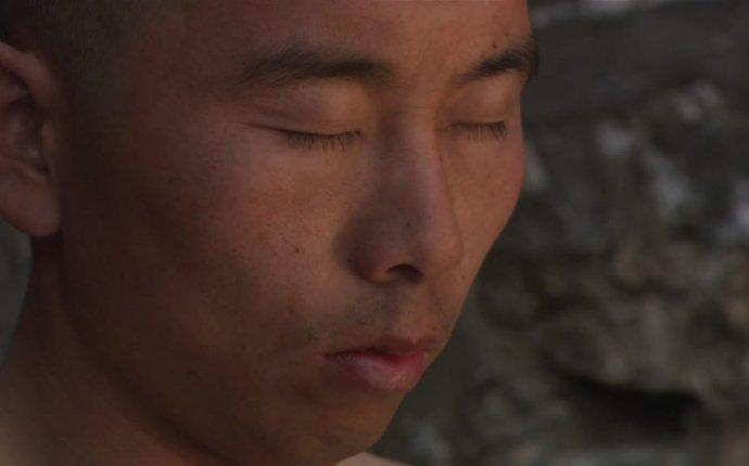 Pranayama / Training / Shaolin Monk / China | HD Stock Video 441