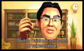 Devilish Training is a true test of concentration.