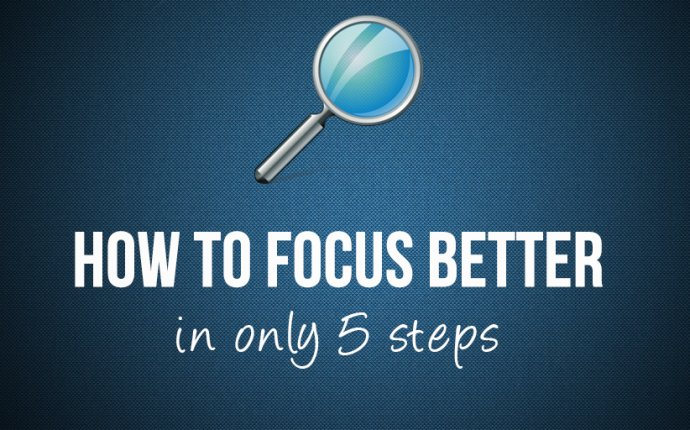 how to stay focussed