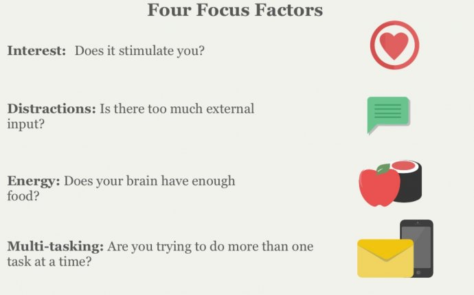How to stay focused longer?